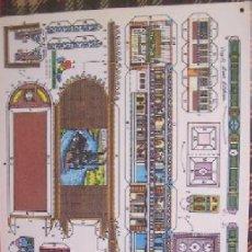 Coleccionismo Recortables: RECORTABLE - BARCO DE MISISSIPI - 38 X 25 CM. Lote 146321498