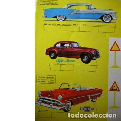 RECORTES ULTRA. AUTOMÓVILES Nº 6. EDITORIAL ROMA. 1961 (Coleccionismo - Recortables - Transportes)