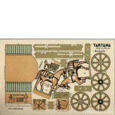 Coleccionismo Recortables: TARTANA. SERIE 100. Nº 102. CONSTRUCCIONES EL SOLDADO. Lote 49282874