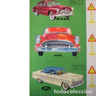 RECORTES ULTRA. AUTOMÓVILES Nº 1. EDITORIAL ROMA. 1961 (Coleccionismo - Recortables - Transportes)