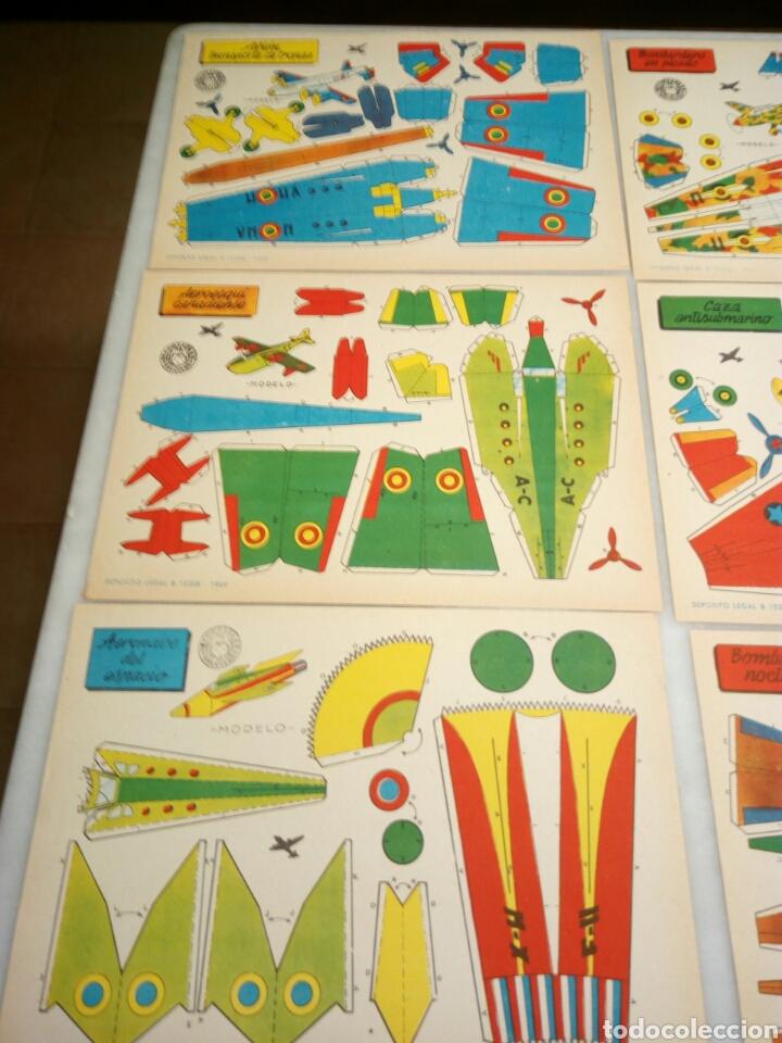 Coleccionismo Recortables: Recortables Bruguera. 9/aviones. - Foto 2 - 153573796