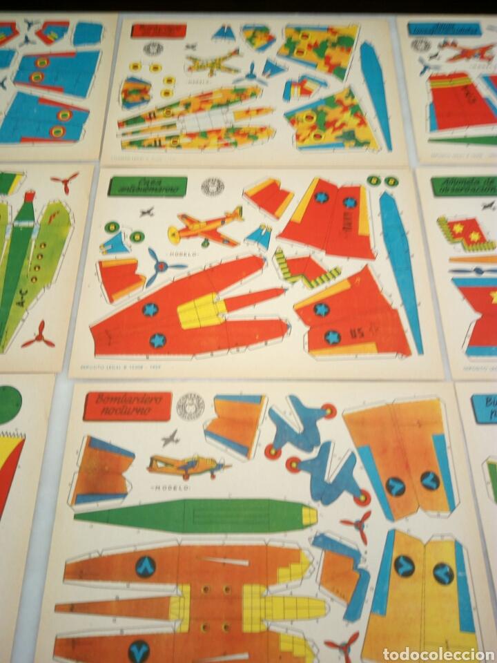 Coleccionismo Recortables: Recortables Bruguera. 9/aviones. - Foto 3 - 153573796