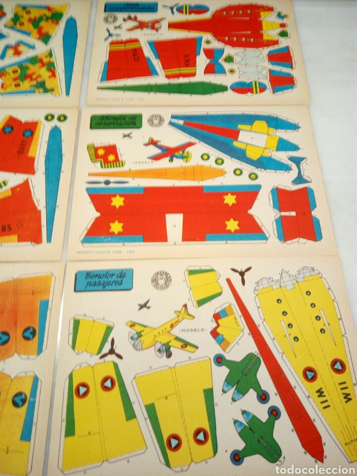 Coleccionismo Recortables: Recortables Bruguera. 9/aviones. - Foto 4 - 153573796
