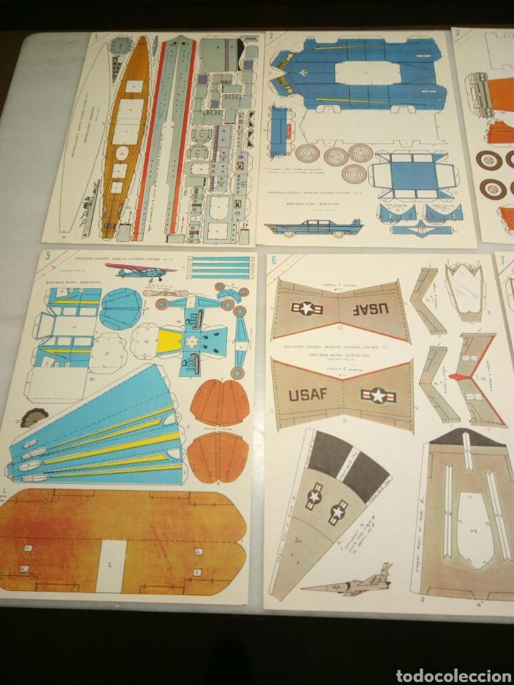 Coleccionismo Recortables: Recortables cometa. Editorial Roma. 1963. 8 laminas - Foto 2 - 153575956