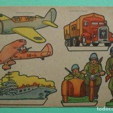 Coleccionismo Recortables: RECORTABLES CELMA - AUTOR: RIBAS - AÑO 1960 - PERFECTO ESTADO. Lote 155165858
