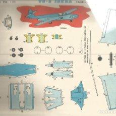 Coleccionismo Recortables: RECORTABLES EVA AVIONES TS- 2 ISKRA POLONIA . Lote 155837474