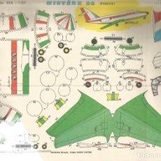 Coleccionismo Recortables: RECORTABLES EVA AVIONES MISTERE 20 FRANCIA . Lote 155837778