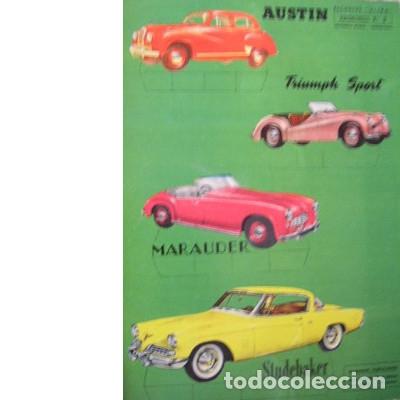 RECORTES ULTRA. AUTOMÓVILES Nº 2. EDITORIAL ROMA. 1961 (Coleccionismo - Recortables - Transportes)