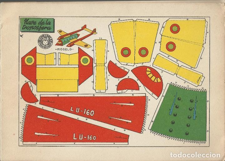 Coleccionismo Recortables: MIS JUGUETES AERONAVES RECORTABLES - BRUGUERA a. 60 - Foto 2 - 161858394
