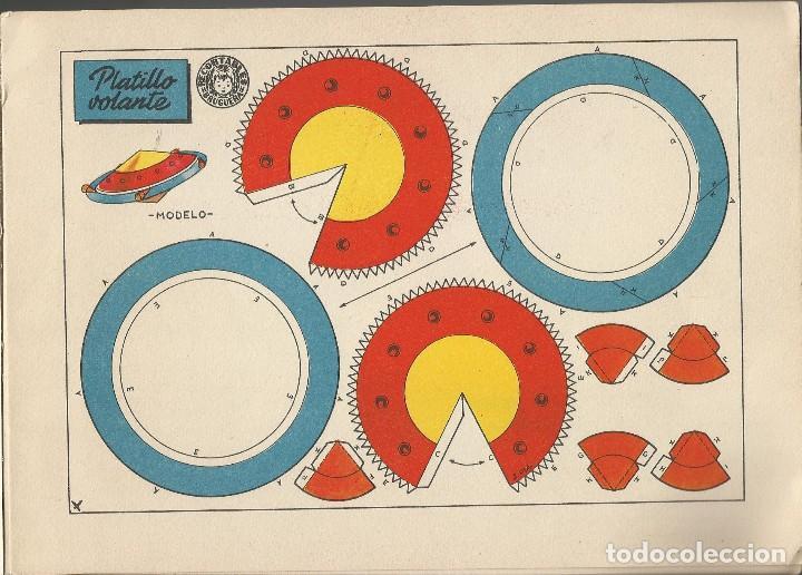 Coleccionismo Recortables: MIS JUGUETES AERONAVES RECORTABLES - BRUGUERA a. 60 - Foto 3 - 161858394