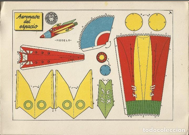 Coleccionismo Recortables: MIS JUGUETES AERONAVES RECORTABLES - BRUGUERA a. 60 - Foto 4 - 161858394