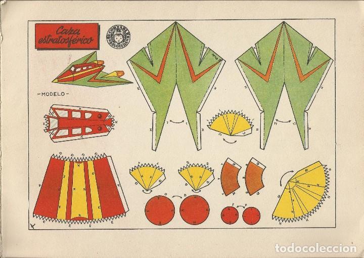 Coleccionismo Recortables: MIS JUGUETES AERONAVES RECORTABLES - BRUGUERA a. 60 - Foto 5 - 161858394