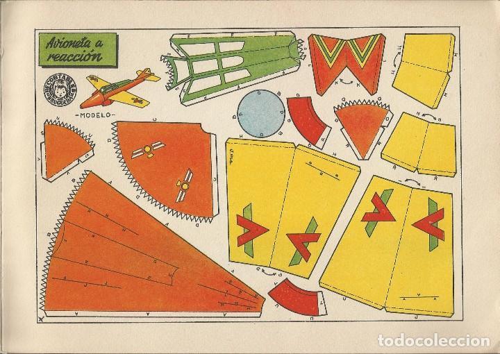 Coleccionismo Recortables: MIS JUGUETES AERONAVES RECORTABLES - BRUGUERA a. 60 - Foto 6 - 161858394