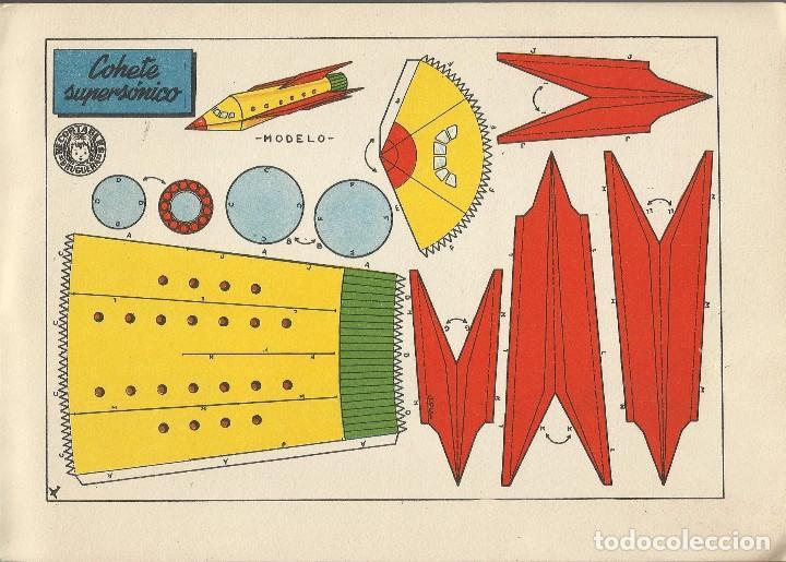Coleccionismo Recortables: MIS JUGUETES AERONAVES RECORTABLES - BRUGUERA a. 60 - Foto 7 - 161858394