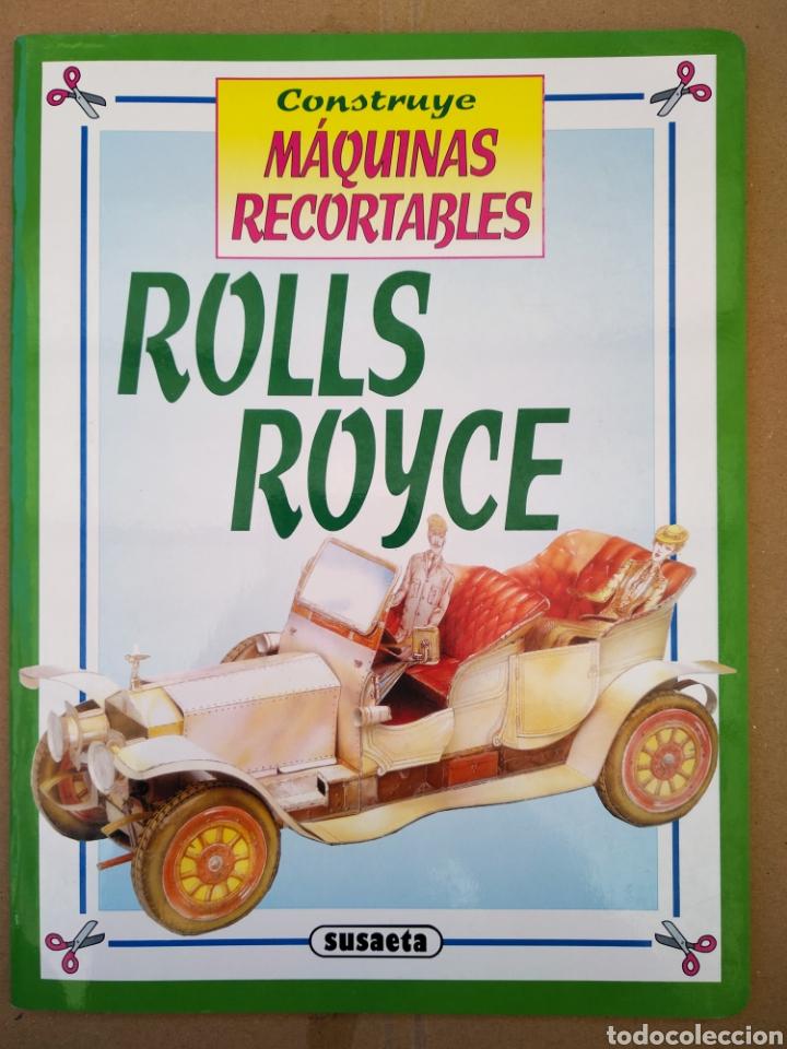 Coleccionismo Recortables: Lote Construye Máquinas Recortables (Susaeta). Incluye Avión Spad / Rolls Royce / Moto / Locomotora. - Foto 3 - 165847613