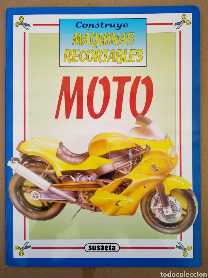 Coleccionismo Recortables: Lote Construye Máquinas Recortables (Susaeta). Incluye Avión Spad / Rolls Royce / Moto / Locomotora. - Foto 4 - 165847613