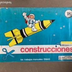 Colecionismo Recortáveis: CONSTRUCCIONES N° 18. TRABAJOS MANUALES EMAS. EDITORIAL MIGUEL A. SALVATELLA.. Lote 170115313