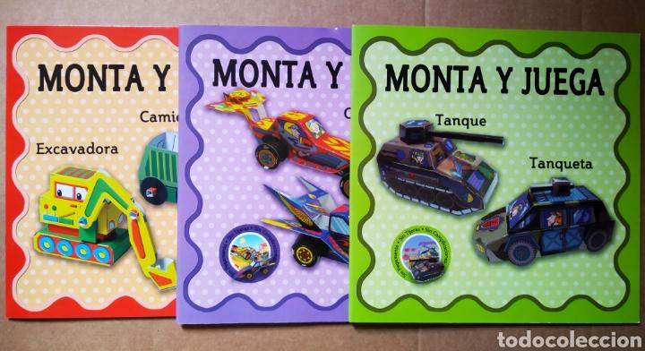 Coleccionismo Recortables: Lote Monta y Juega Colección Completa (Maceda). Sin pegamento, sin tijeras, sin complicaciones - Foto 2 - 171414867