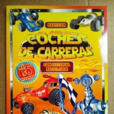 Coleccionismo Recortables: FABRICAR COCHES DE CARRERAS CON MATERIAL RECICLABLE (LIBRO DIVO, 2014). POR STEPHEN MUNZER.. Lote 171415720