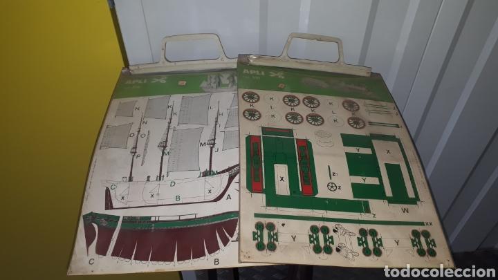 LOTE 2 RECORTABLES APLI REF 516 Y REF 515 A ESTRENAR (Coleccionismo - Recortables - Transportes)