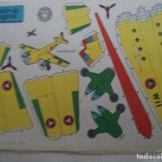 Coleccionismo Recortables: RECORTABLE BIMOTOR DE PASAJEROS. Lote 183983121