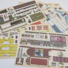 Coleccionismo Recortables: LOTE RECORTABLES CON BEL - TRANSPORTES - RECORTABLE - VER FOTOS. Lote 187441967