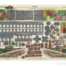 Coleccionismo Recortables: RECORTABLE TANQUE. EDICIONES LA TIJERA.. Lote 196069111