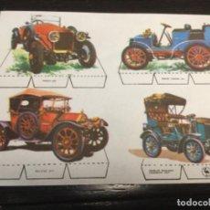 Coleccionismo Recortables: COCHES ANTIGUOS 3 - 16 X 12 CMS - ESTAMPAS DE ESPAÑA (REF. 24). Lote 199223525