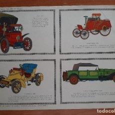 Coleccionismo Recortables: RECORTABLE COCHES ANTIGUOS - TORAY. Lote 200517153