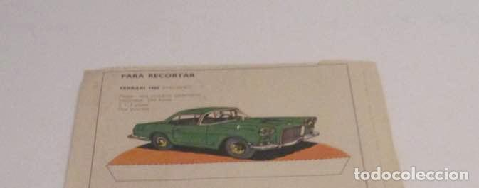 Coleccionismo Recortables: RECORTABLE RENAULT R-8 Y FERRARI 1960 - Foto 2 - 205290123