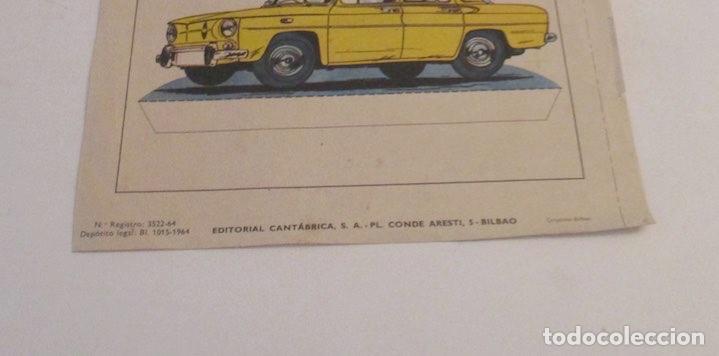 Coleccionismo Recortables: RECORTABLE RENAULT R-8 Y FERRARI 1960 - Foto 3 - 205290123