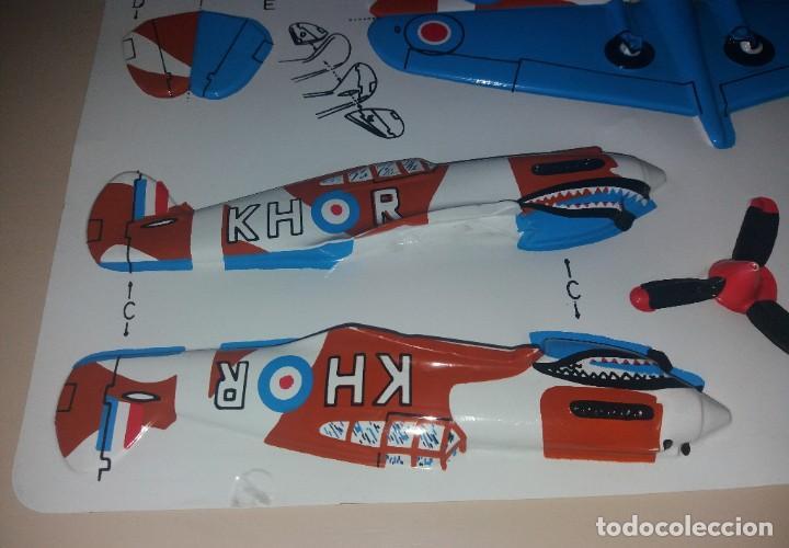 Coleccionismo Recortables: Juguete recortable. Avión militar Tiger Shark - Foto 2 - 205457916