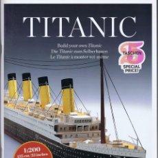 Coleccionismo Recortables: RECORTABLE DEL TITANIC DE TASCHEN. Lote 207022192