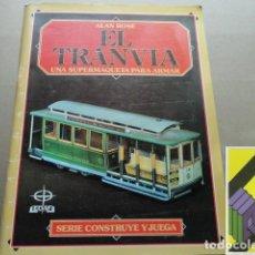 Coleccionismo Recortables: ROSE, ALAN: EL TRANVÍA. UNA SUPERMAQUETA PARA ARMAR. Lote 220931218
