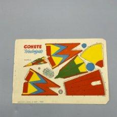 Coleccionismo Recortables: RECORTABLE. COHETE TELEDIRIGDO. 1960. VER FOTO. Lote 224454187