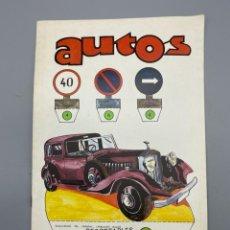 Coleccionismo Recortables: RECORTABLES DE HOY. AUTOS. EDICIONES BAUSAN. AÑO 1979. VER FOTOS. Lote 224460716