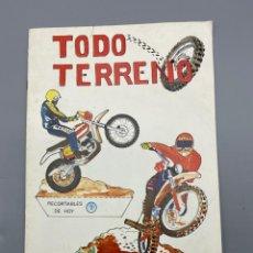 Coleccionismo Recortables: RECORTABLES DE HOY. TODO TERRENO. EDICIONES BAUSAN. AÑO 1979. VER FOTOS. Lote 224460790