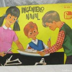 Coleccionismo Recortables: RECORTABLES FHER INGENIERO NAVAL BARCO DE CARGA Y SAVANNAH. Lote 226397660