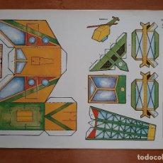 Coleccionismo Recortables: RECORTABLES MEÑIQUE -HELICOPTERO - Nº 4. Lote 226755015