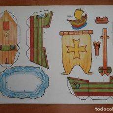Coleccionismo Recortables: RECORTABLES MEÑIQUE - BARCO Nº 6. Lote 226755905
