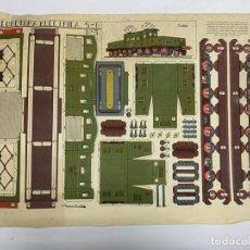 Coleccionismo Recortables: RECORTABLE LOCOMOTORA ELECTRICA 5-B Nº 3. GRAFICAS REUNIDAS. A. ROMERO DE CIDON. VER. Lote 228266005