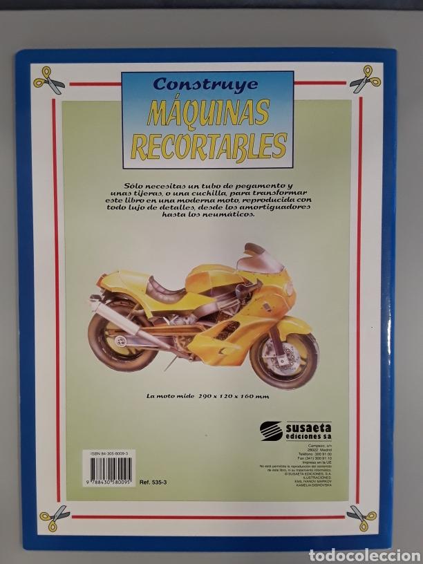 Coleccionismo Recortables: LIBRO MAQUINAS RECORTABLES MOTO EDITORIAL SUSAETA - Foto 2 - 230617950