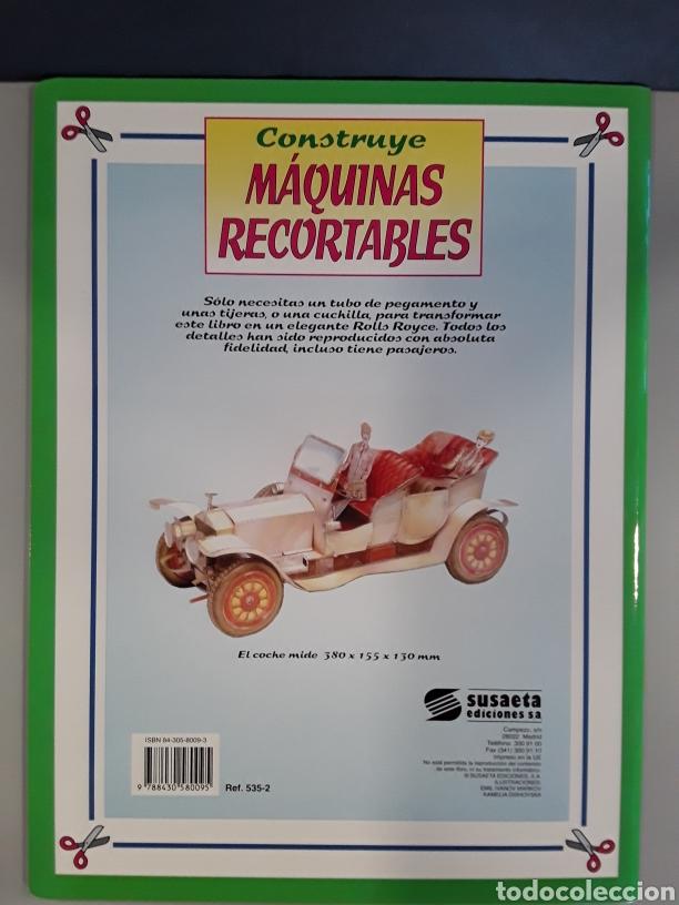Coleccionismo Recortables: LIBRO MAQUINAS RECORTABLES ROLLS ROYCE EDITORIAL SUSAETA - Foto 2 - 230618675