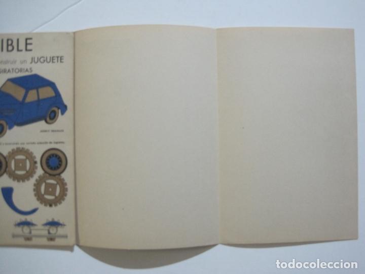 Coleccionismo Recortables: MOVIBLE RECORTABLE-COCHE CON RUEDAS GIRATORIAS-RECORTABLE ANTIGUO-VER FOTOS-(K-1465) - Foto 5 - 231671465