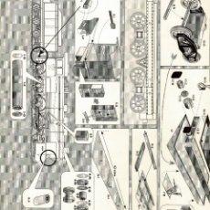Coleccionismo Recortables: RECORTABLE LOCOMOTORA RENFE 240-2070, MAQUETA ALCAN CARTULINA 1:24. Lote 232287500
