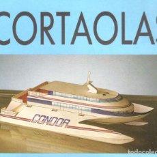 Coleccionismo Recortables: RECORTABLE BARCO CORTAOLAS. RIALP 1990. Lote 232747845