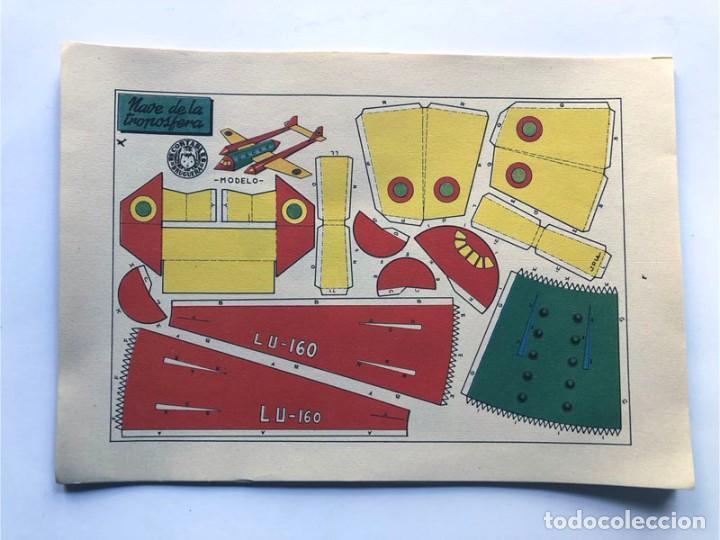 Coleccionismo Recortables: COLECCION - AERONAVES / SERIE COMPLETA - 8 LAMINAS / BRUGUERA AÑOS 50 / MUNDO INFANTIL - Foto 2 - 233003610