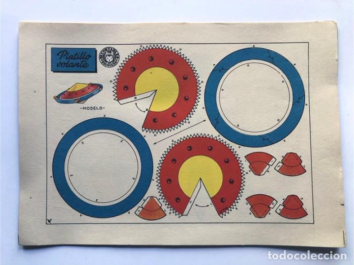Coleccionismo Recortables: COLECCION - AERONAVES / SERIE COMPLETA - 8 LAMINAS / BRUGUERA AÑOS 50 / MUNDO INFANTIL - Foto 4 - 233003610
