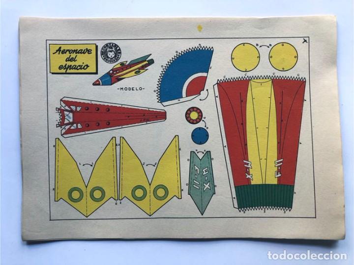 Coleccionismo Recortables: COLECCION - AERONAVES / SERIE COMPLETA - 8 LAMINAS / BRUGUERA AÑOS 50 / MUNDO INFANTIL - Foto 5 - 233003610