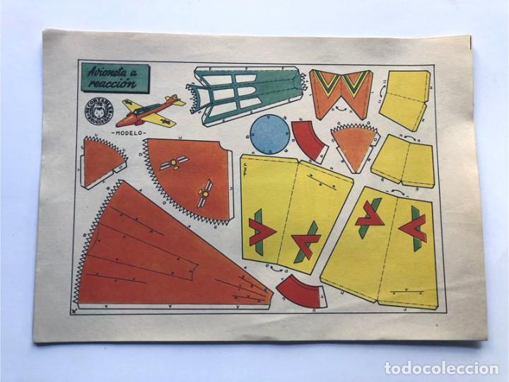 Coleccionismo Recortables: COLECCION - AERONAVES / SERIE COMPLETA - 8 LAMINAS / BRUGUERA AÑOS 50 / MUNDO INFANTIL - Foto 8 - 233003610